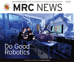 Cover of MRC News Fall 2019 Issue